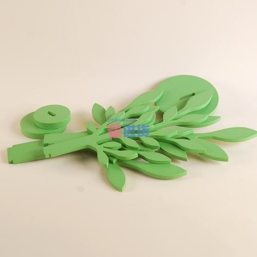 翠绿春天 小树造型首饰架/饰品挂架 绿