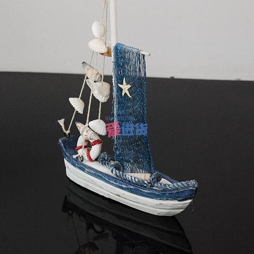 时光屋 创意家居海洋帆船