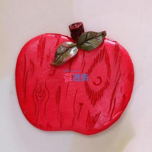 时光屋 创意冰箱磁贴 树脂冰箱贴 磁性冰箱贴 可爱甜蜜红苹果系列