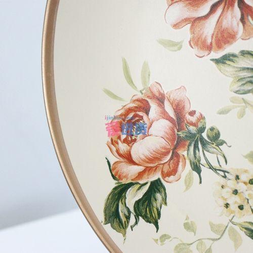 手绘装饰盘/桌面摆件/陶瓷圆盘