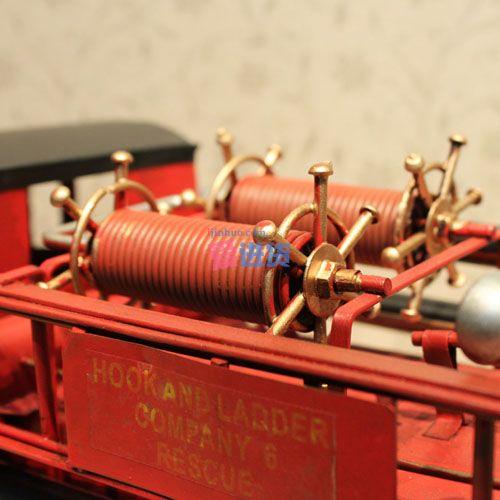 纸盒手工制作消防车