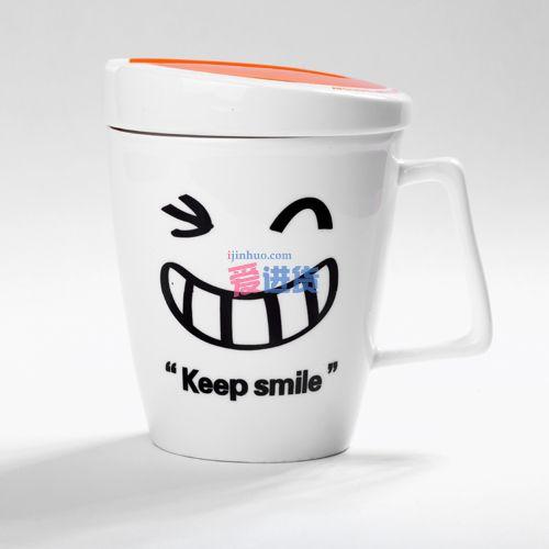可爱的笑脸造型也可以当摆设