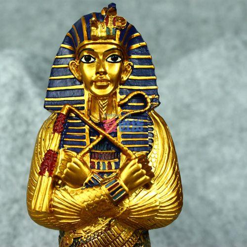 首页 工艺摆件 吉祥动物摆件 富贵孔雀 经典法老神摆件/桌面摆件 埃及