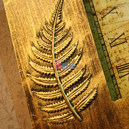 欧式复古 装饰挂钟/装饰壁钟 金属雕花 家居饰品 时光