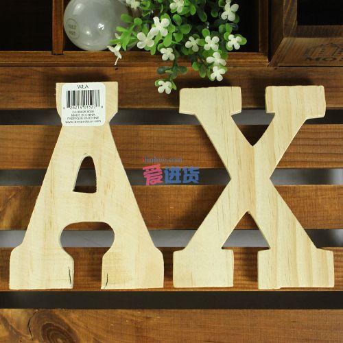 diy木质字母 墙面挂饰/墙面装饰