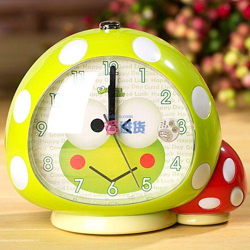 蘑菇屋 创意闹钟/卡通闹钟/语音闹钟 9款_小闹钟_钟表