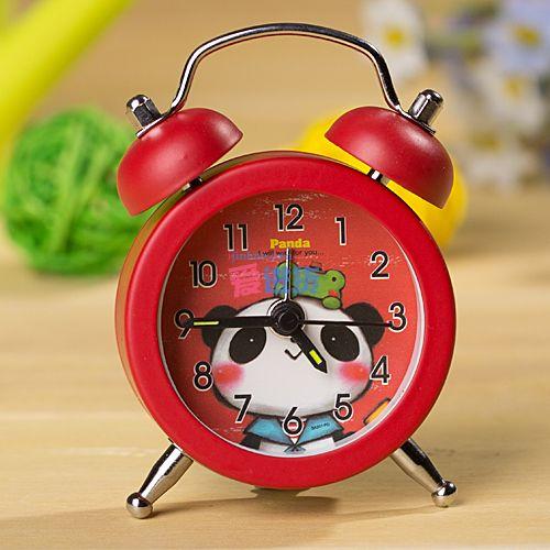 熊猫钟表手工制作图片
