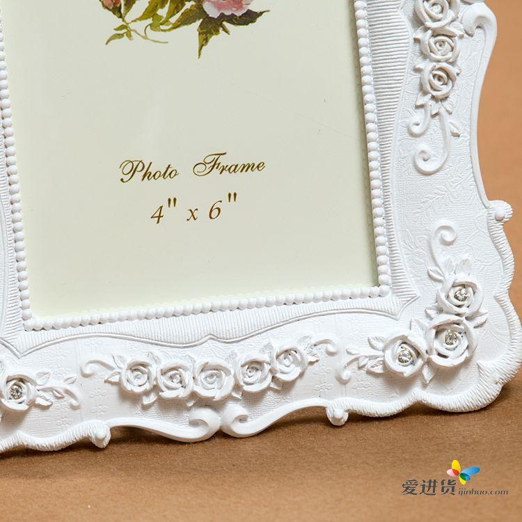 白色回忆 树脂相框/欧式相框/田园相框