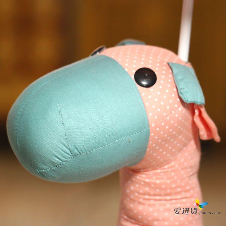 布艺可爱小驴 创意台灯/床头灯/卧室儿童台灯 带灯泡