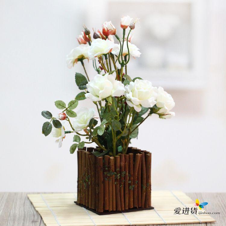 欧式盆栽假花贴图