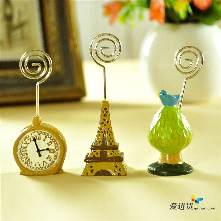 创意卡纸剪贴画 钟表